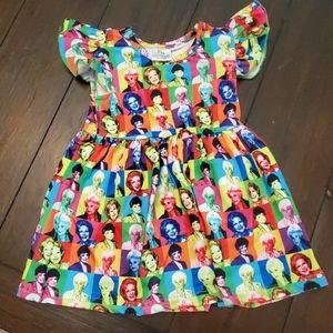 NWOT GOLDEN GIRLS Boutique Milksilk Dress